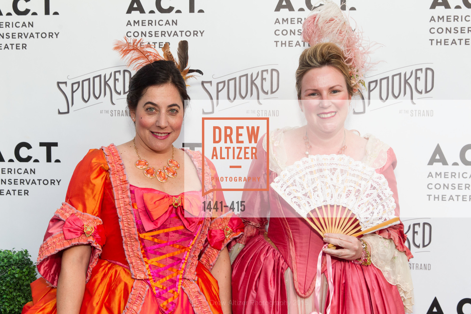 Diana Tauder, Christine Huhn, SPOOKED AT THE STRAND Presented by the American Conservatory Theater, The Strand Theater. 1127 Market Street, October 26th, 2015,Drew Altizer, Drew Altizer Photography, full-service agency, private events, San Francisco photographer, photographer california