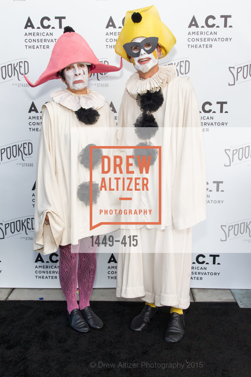Patti Rueff, Rusty Rueff, SPOOKED AT THE STRAND Presented by the American Conservatory Theater, The Strand Theater. 1127 Market Street, October 26th, 2015,Drew Altizer, Drew Altizer Photography, full-service agency, private events, San Francisco photographer, photographer california