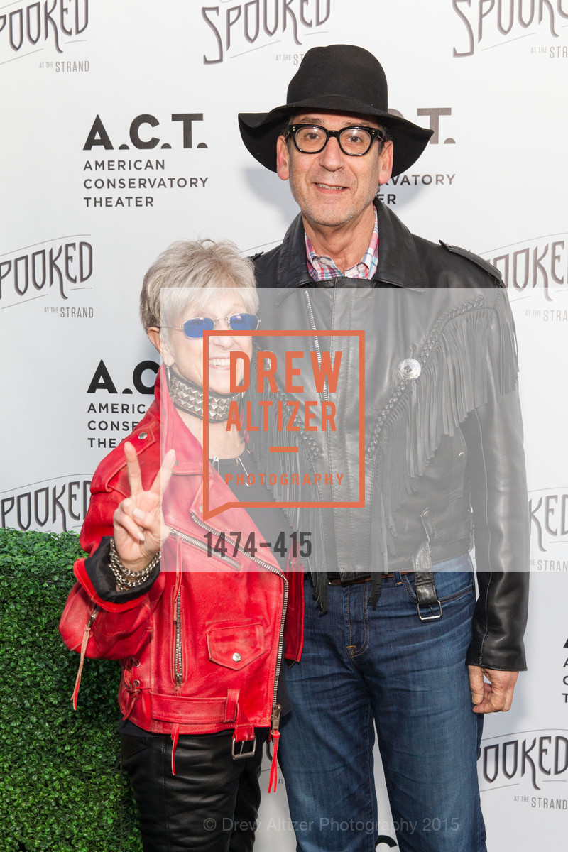 Nancy Livingston, Fred Levin, SPOOKED AT THE STRAND Presented by the American Conservatory Theater, The Strand Theater. 1127 Market Street, October 26th, 2015,Drew Altizer, Drew Altizer Photography, full-service event agency, private events, San Francisco photographer, photographer California