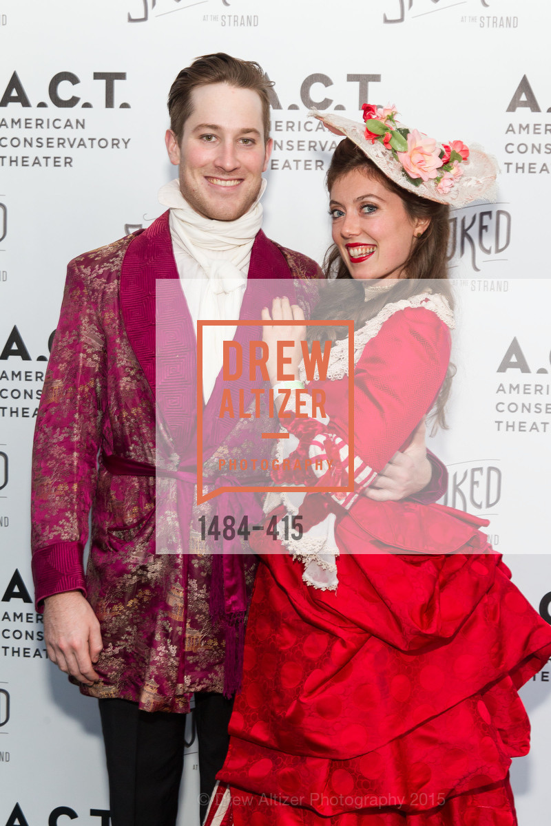 Patrick Jones, Lily Narbonne, SPOOKED AT THE STRAND Presented by the American Conservatory Theater, The Strand Theater. 1127 Market Street, October 26th, 2015
