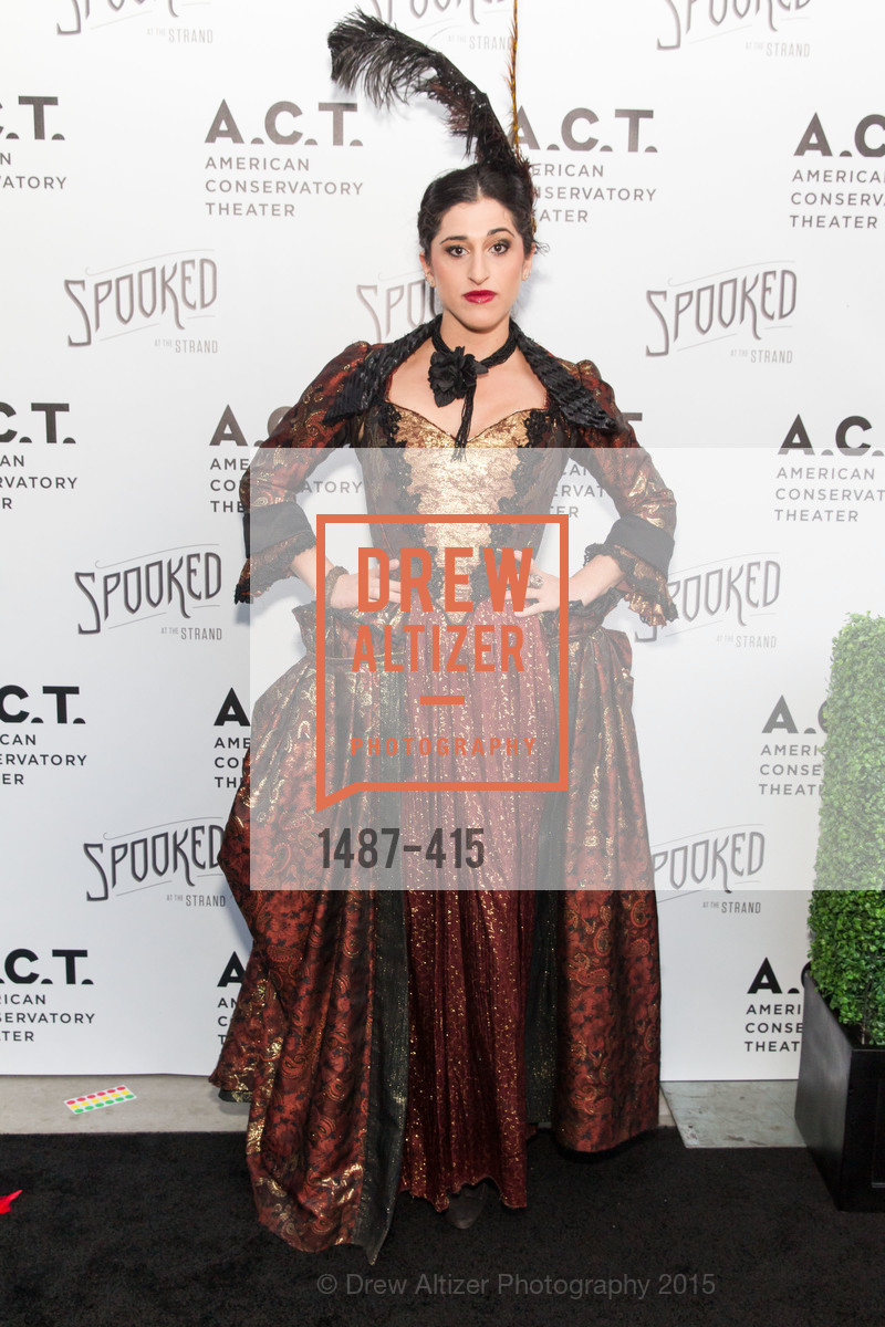 Jennifer Apple, SPOOKED AT THE STRAND Presented by the American Conservatory Theater, The Strand Theater. 1127 Market Street, October 26th, 2015