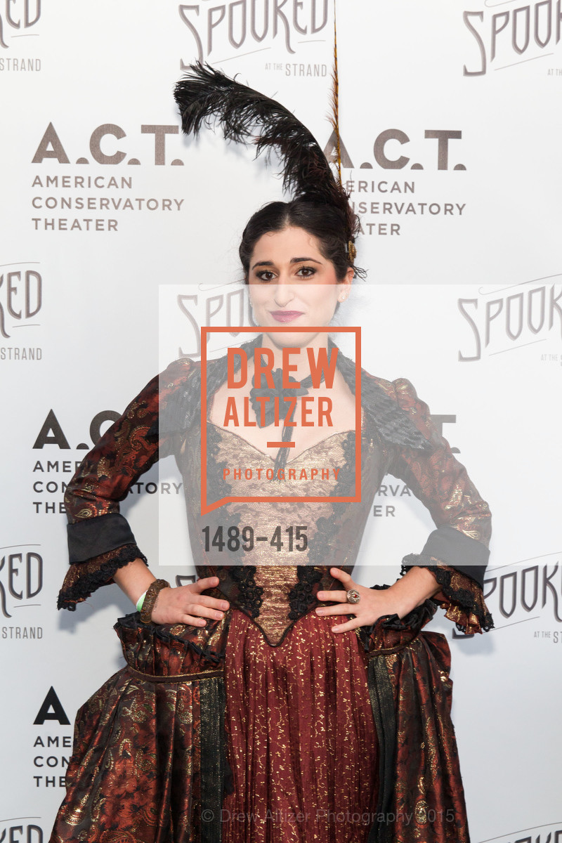 Jennifer Apple, SPOOKED AT THE STRAND Presented by the American Conservatory Theater, The Strand Theater. 1127 Market Street, October 26th, 2015,Drew Altizer, Drew Altizer Photography, full-service agency, private events, San Francisco photographer, photographer california