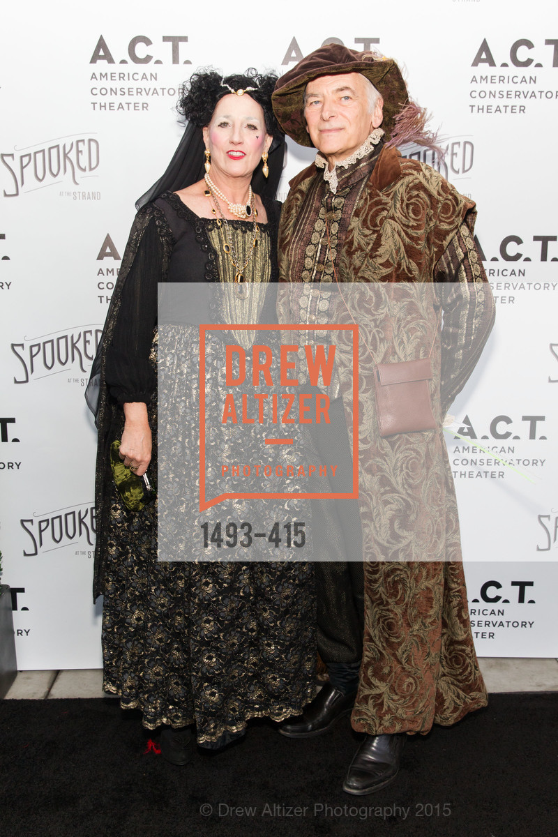 Shirley Cookston, Steve Cookston, SPOOKED AT THE STRAND Presented by the American Conservatory Theater, The Strand Theater. 1127 Market Street, October 26th, 2015,Drew Altizer, Drew Altizer Photography, full-service agency, private events, San Francisco photographer, photographer california
