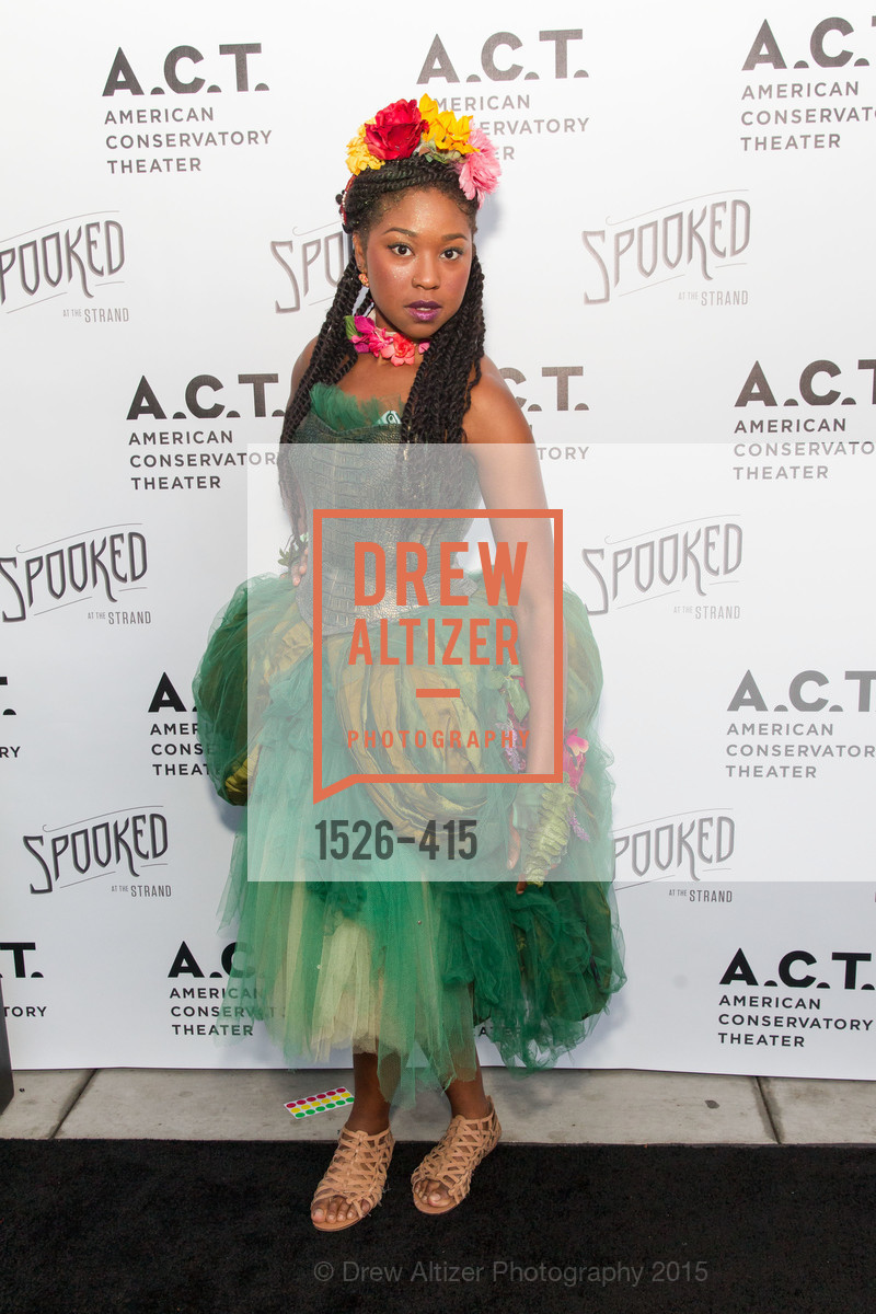 Adriana Mitchell, SPOOKED AT THE STRAND Presented by the American Conservatory Theater, The Strand Theater. 1127 Market Street, October 26th, 2015,Drew Altizer, Drew Altizer Photography, full-service agency, private events, San Francisco photographer, photographer california