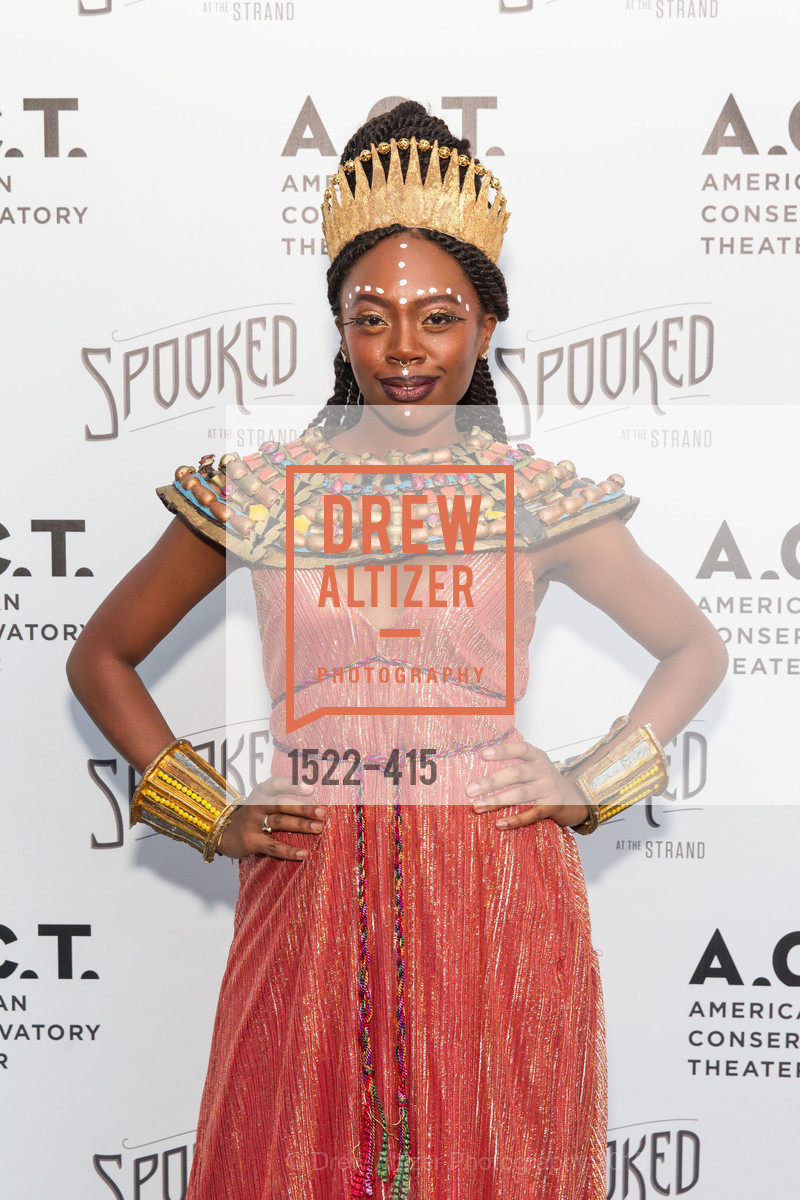 Akilah Walker, SPOOKED AT THE STRAND Presented by the American Conservatory Theater, The Strand Theater. 1127 Market Street, October 26th, 2015,Drew Altizer, Drew Altizer Photography, full-service agency, private events, San Francisco photographer, photographer california