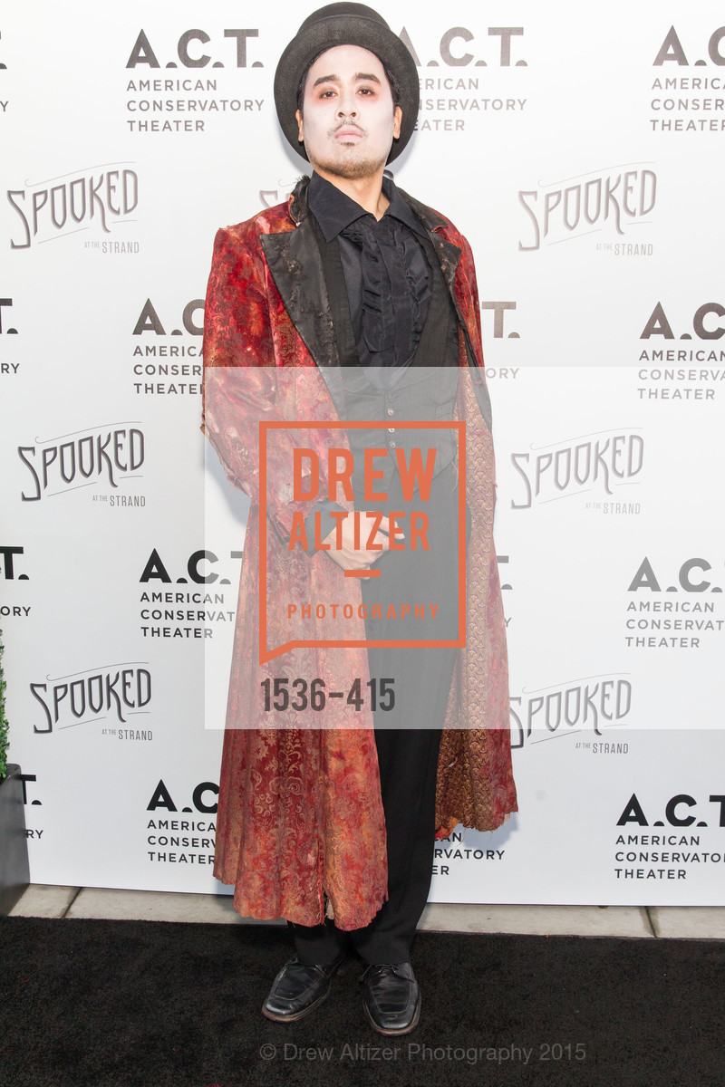 Phillip Estrera, SPOOKED AT THE STRAND Presented by the American Conservatory Theater, The Strand Theater. 1127 Market Street, October 26th, 2015,Drew Altizer, Drew Altizer Photography, full-service agency, private events, San Francisco photographer, photographer california