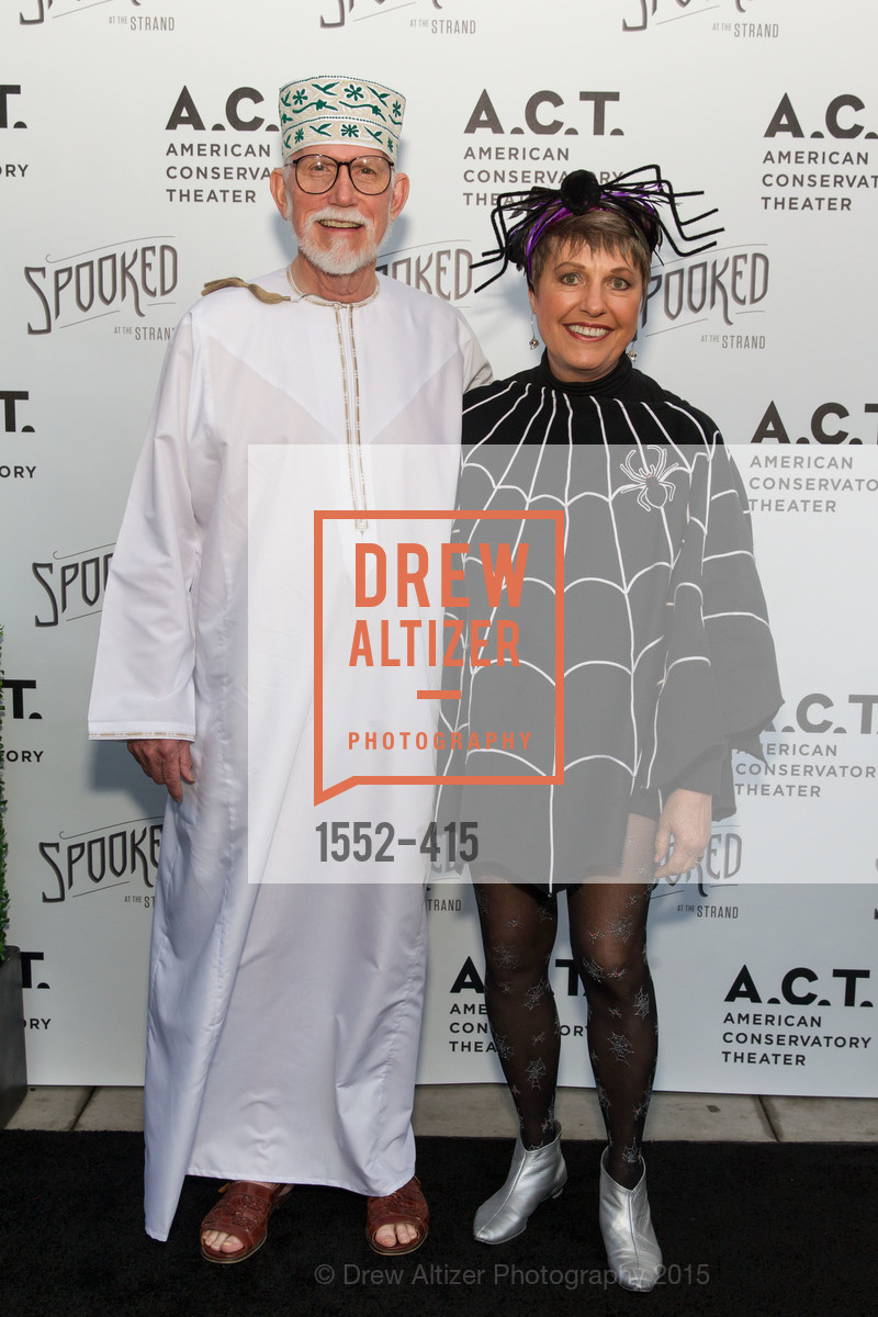 Lloyd Cluff, Janet Cluff, SPOOKED AT THE STRAND Presented by the American Conservatory Theater, The Strand Theater. 1127 Market Street, October 26th, 2015,Drew Altizer, Drew Altizer Photography, full-service agency, private events, San Francisco photographer, photographer california