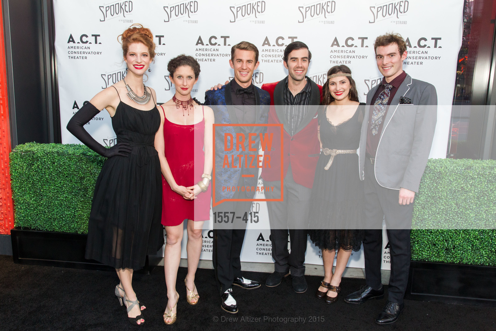 Kaitlyn Taylor, Jennifer Reddish, Matthew Cabaret, Michael McIntyre, Lauren Hart, Thomas Stagnita, SPOOKED AT THE STRAND Presented by the American Conservatory Theater, The Strand Theater. 1127 Market Street, October 26th, 2015,Drew Altizer, Drew Altizer Photography, full-service agency, private events, San Francisco photographer, photographer california