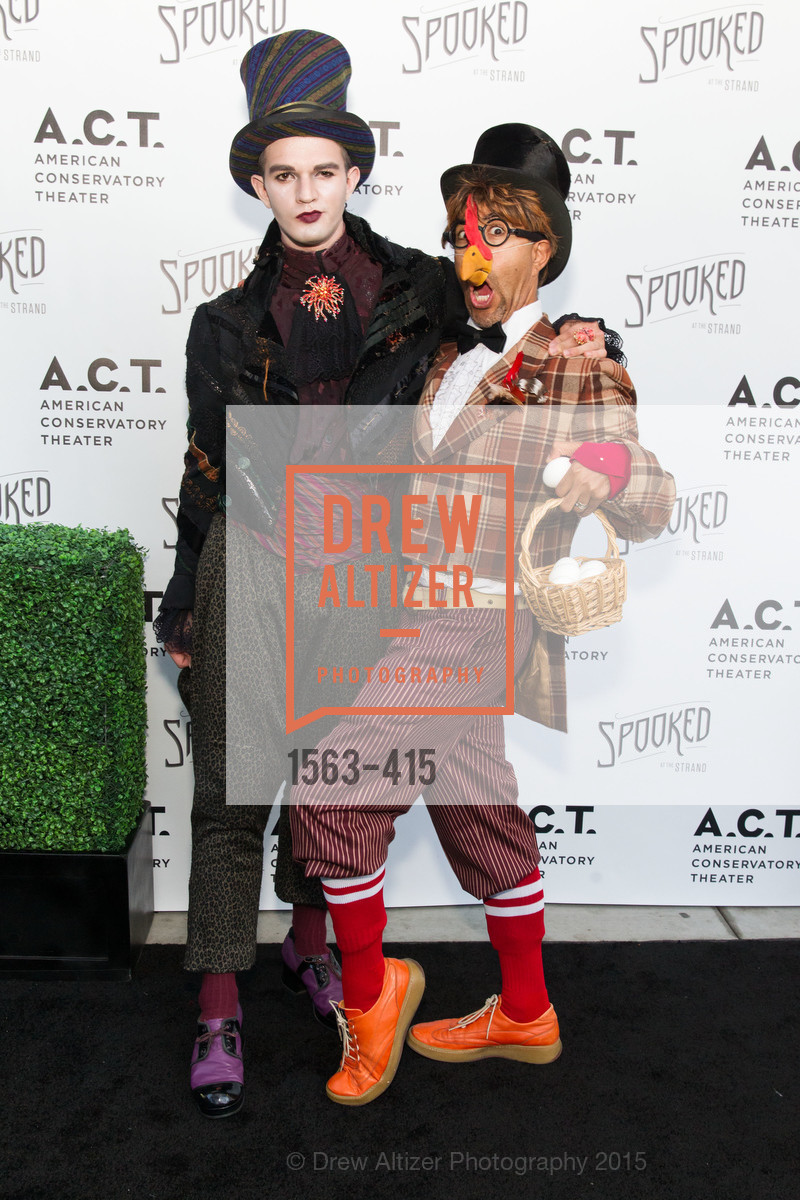 Albert Rubio, Steven Bischer, SPOOKED AT THE STRAND Presented by the American Conservatory Theater, The Strand Theater. 1127 Market Street, October 26th, 2015,Drew Altizer, Drew Altizer Photography, full-service agency, private events, San Francisco photographer, photographer california