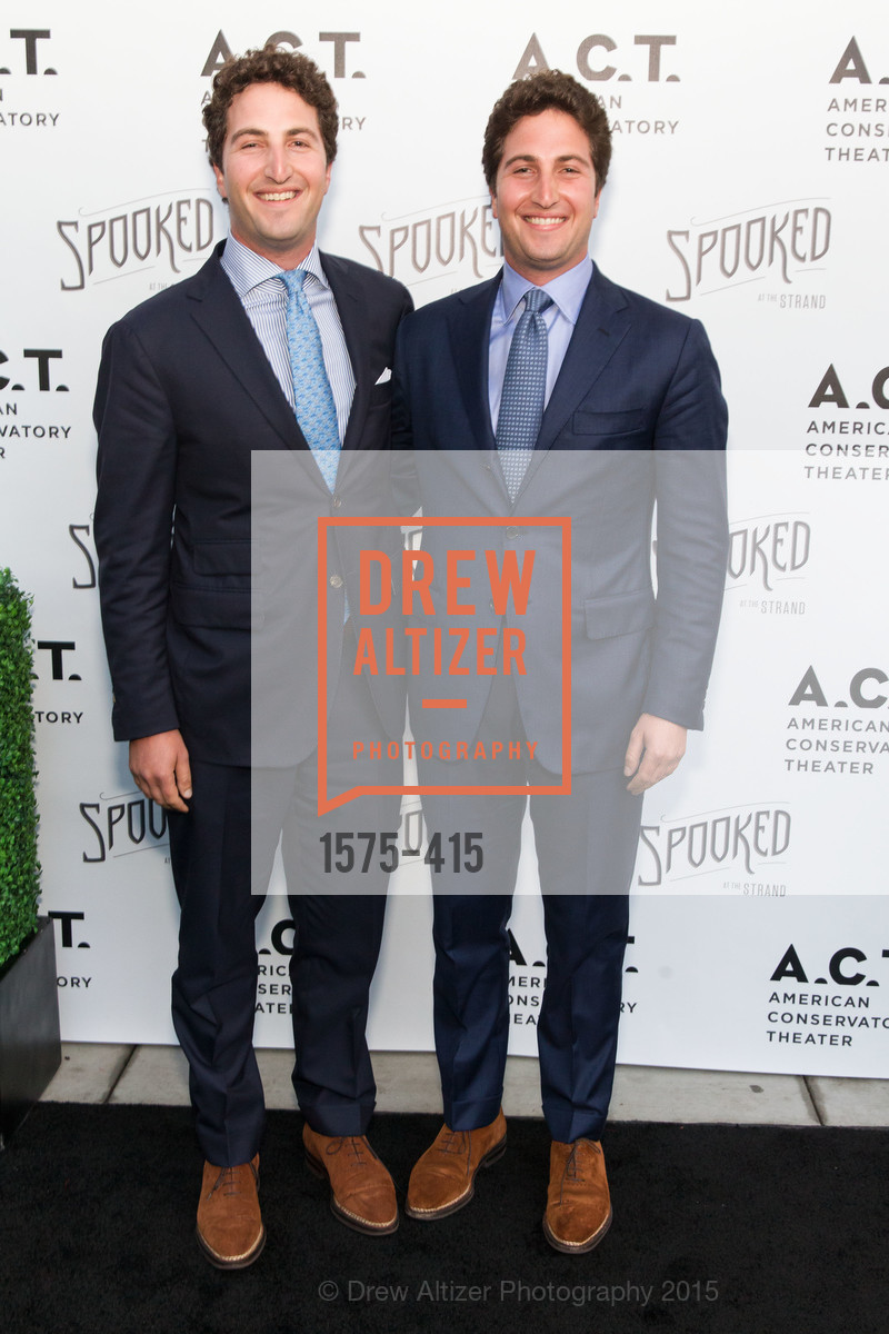Jason Goldman, Matthew Goldman, SPOOKED AT THE STRAND Presented by the American Conservatory Theater, The Strand Theater. 1127 Market Street, October 26th, 2015,Drew Altizer, Drew Altizer Photography, full-service agency, private events, San Francisco photographer, photographer california