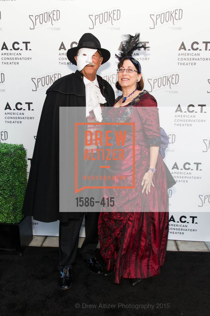 Donald Miller, Toni Miller, SPOOKED AT THE STRAND Presented by the American Conservatory Theater, The Strand Theater. 1127 Market Street, October 26th, 2015,Drew Altizer, Drew Altizer Photography, full-service agency, private events, San Francisco photographer, photographer california