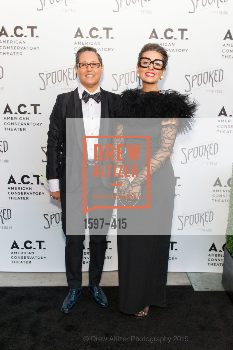 Jodi Goodman, Michelle Goodman, SPOOKED AT THE STRAND Presented by the American Conservatory Theater, The Strand Theater. 1127 Market Street, October 26th, 2015,Drew Altizer, Drew Altizer Photography, full-service agency, private events, San Francisco photographer, photographer california