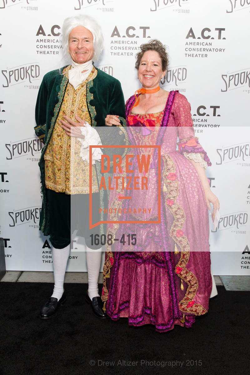 Kirke Hasson, Nancy Sawyer Hasson, SPOOKED AT THE STRAND Presented by the American Conservatory Theater, The Strand Theater. 1127 Market Street, October 26th, 2015,Drew Altizer, Drew Altizer Photography, full-service agency, private events, San Francisco photographer, photographer california