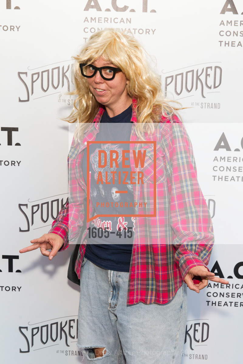 Heather Bachs, SPOOKED AT THE STRAND Presented by the American Conservatory Theater, The Strand Theater. 1127 Market Street, October 26th, 2015,Drew Altizer, Drew Altizer Photography, full-service agency, private events, San Francisco photographer, photographer california