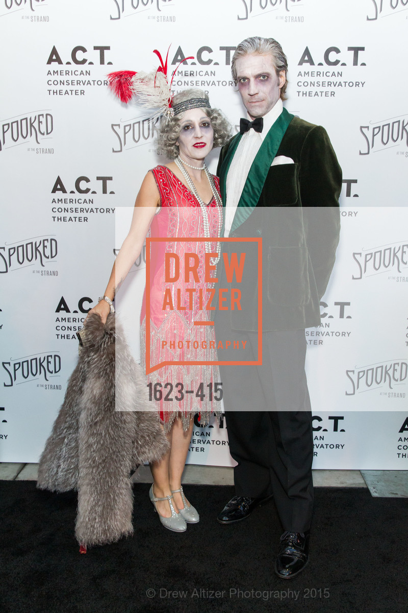 Tiffanie DeBartolo, Scott Schumaker, SPOOKED AT THE STRAND Presented by the American Conservatory Theater, The Strand Theater. 1127 Market Street, October 26th, 2015,Drew Altizer, Drew Altizer Photography, full-service agency, private events, San Francisco photographer, photographer california