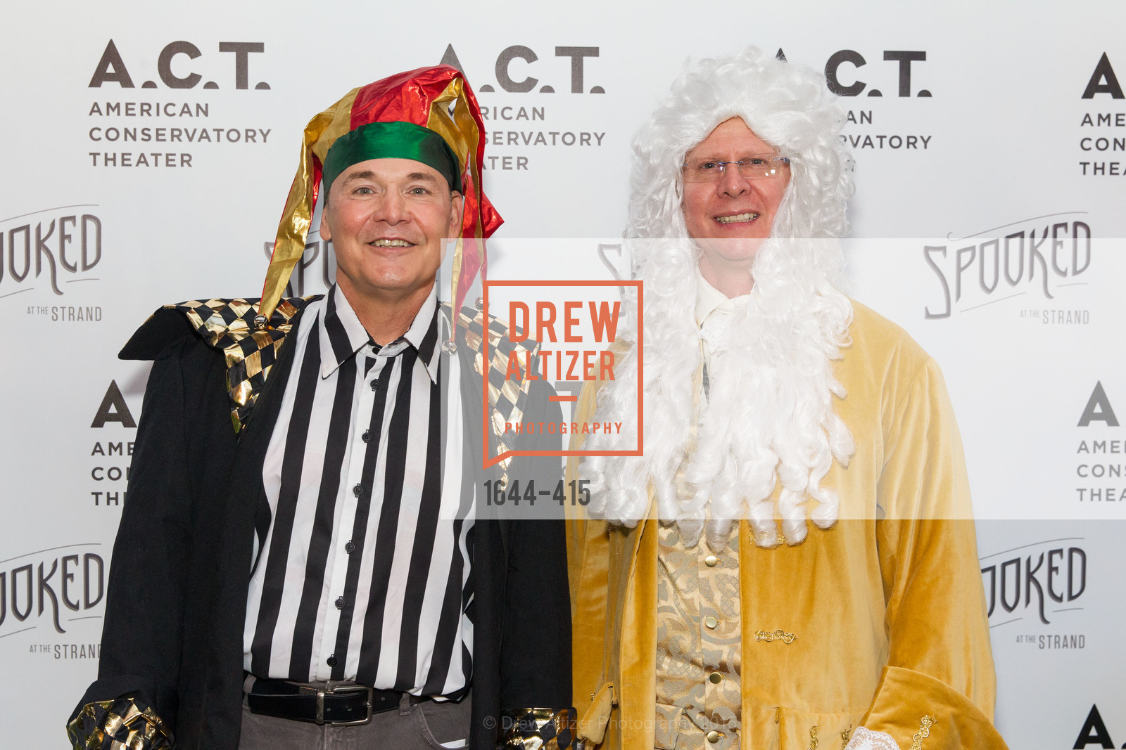Rob Scheid, Todd Charles, SPOOKED AT THE STRAND Presented by the American Conservatory Theater, The Strand Theater. 1127 Market Street, October 26th, 2015,Drew Altizer, Drew Altizer Photography, full-service agency, private events, San Francisco photographer, photographer california