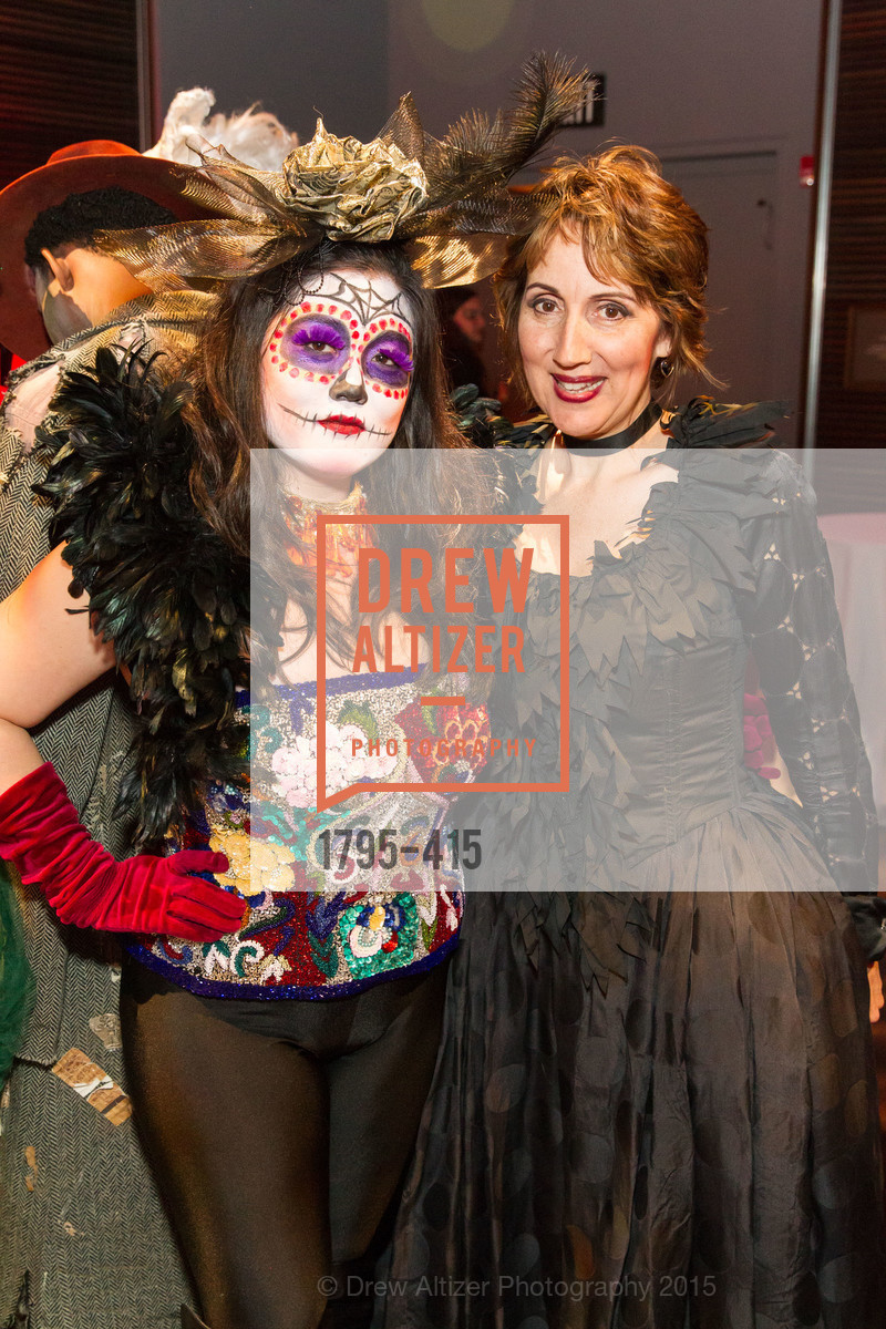 Norea Kang, Dominique Lozano, SPOOKED AT THE STRAND Presented by the American Conservatory Theater, The Strand Theater. 1127 Market Street, October 26th, 2015,Drew Altizer, Drew Altizer Photography, full-service agency, private events, San Francisco photographer, photographer california
