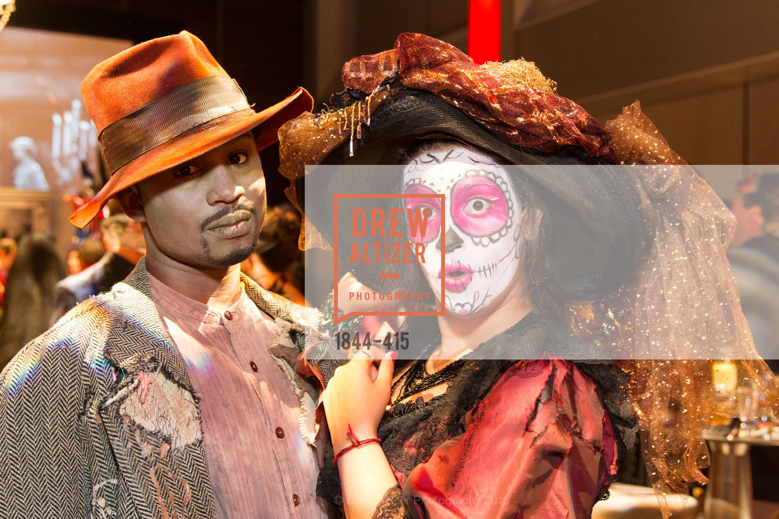 Kadeem Harris, Beatriz Miranda Torres, SPOOKED AT THE STRAND Presented by the American Conservatory Theater, The Strand Theater. 1127 Market Street, October 26th, 2015,Drew Altizer, Drew Altizer Photography, full-service agency, private events, San Francisco photographer, photographer california