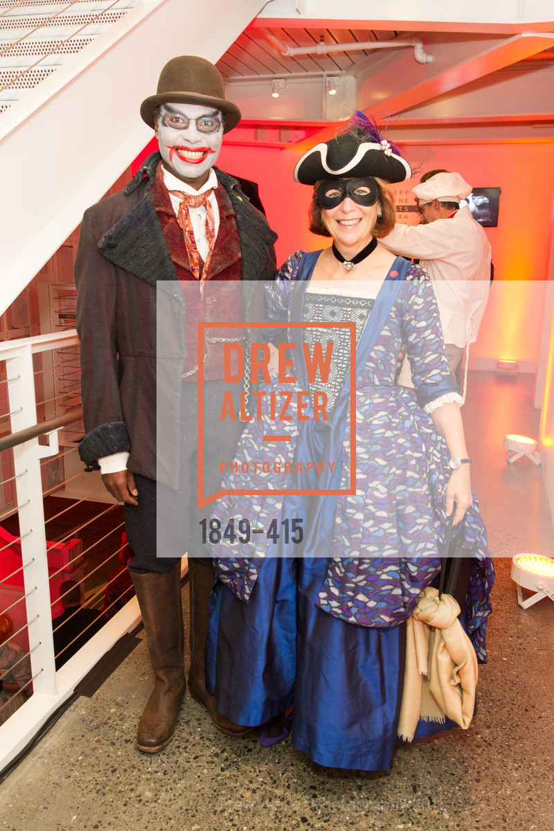 Patrick Thompson, Abby Schnair, SPOOKED AT THE STRAND Presented by the American Conservatory Theater, The Strand Theater. 1127 Market Street, October 26th, 2015,Drew Altizer, Drew Altizer Photography, full-service agency, private events, San Francisco photographer, photographer california