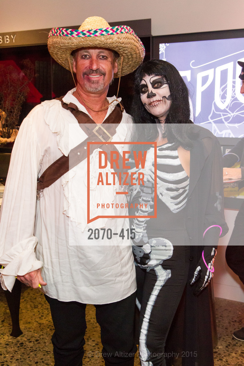 Ken Flak, Christina Flak, SPOOKED AT THE STRAND Presented by the American Conservatory Theater, The Strand Theater. 1127 Market Street, October 26th, 2015,Drew Altizer, Drew Altizer Photography, full-service agency, private events, San Francisco photographer, photographer california