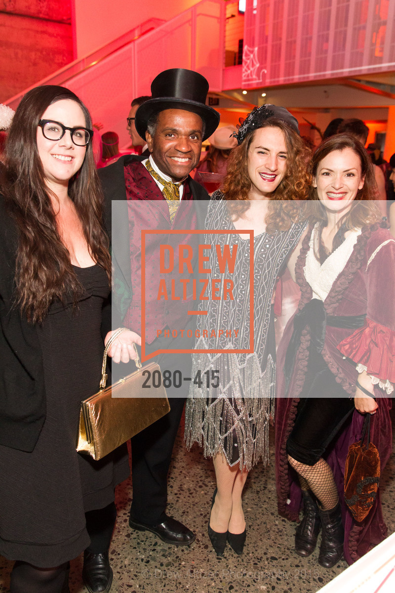 Sarah Pomolo, Paul McNab, Colden Lambright, Brenna McNab, SPOOKED AT THE STRAND Presented by the American Conservatory Theater, The Strand Theater. 1127 Market Street, October 26th, 2015,Drew Altizer, Drew Altizer Photography, full-service agency, private events, San Francisco photographer, photographer california