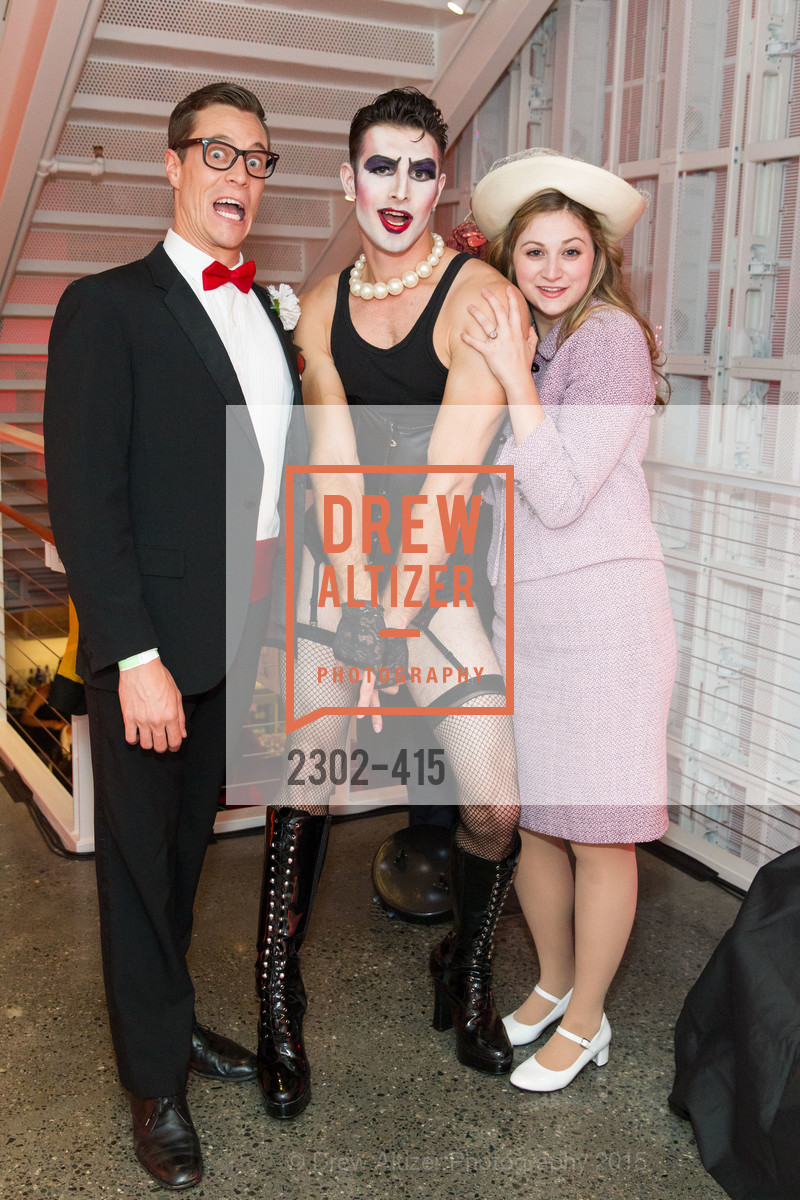Stephen Wattrus, Justin Genna, Julia Adamo, SPOOKED AT THE STRAND Presented by the American Conservatory Theater, The Strand Theater. 1127 Market Street, October 26th, 2015,Drew Altizer, Drew Altizer Photography, full-service event agency, private events, San Francisco photographer, photographer California