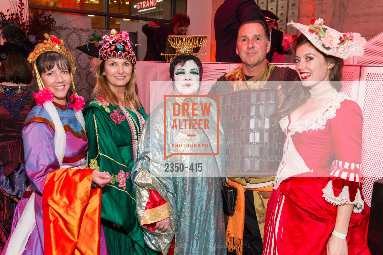 Michelle Shonk, Peralynn Schlater, Jay Streets, Anne Shonk, SPOOKED AT THE STRAND Presented by the American Conservatory Theater, The Strand Theater. 1127 Market Street, October 26th, 2015,Drew Altizer, Drew Altizer Photography, full-service event agency, private events, San Francisco photographer, photographer California