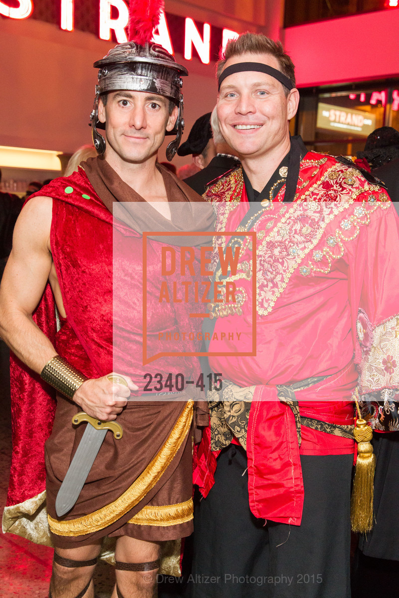 Brian Ayer, Jason Seifer, SPOOKED AT THE STRAND Presented by the American Conservatory Theater, The Strand Theater. 1127 Market Street, October 26th, 2015