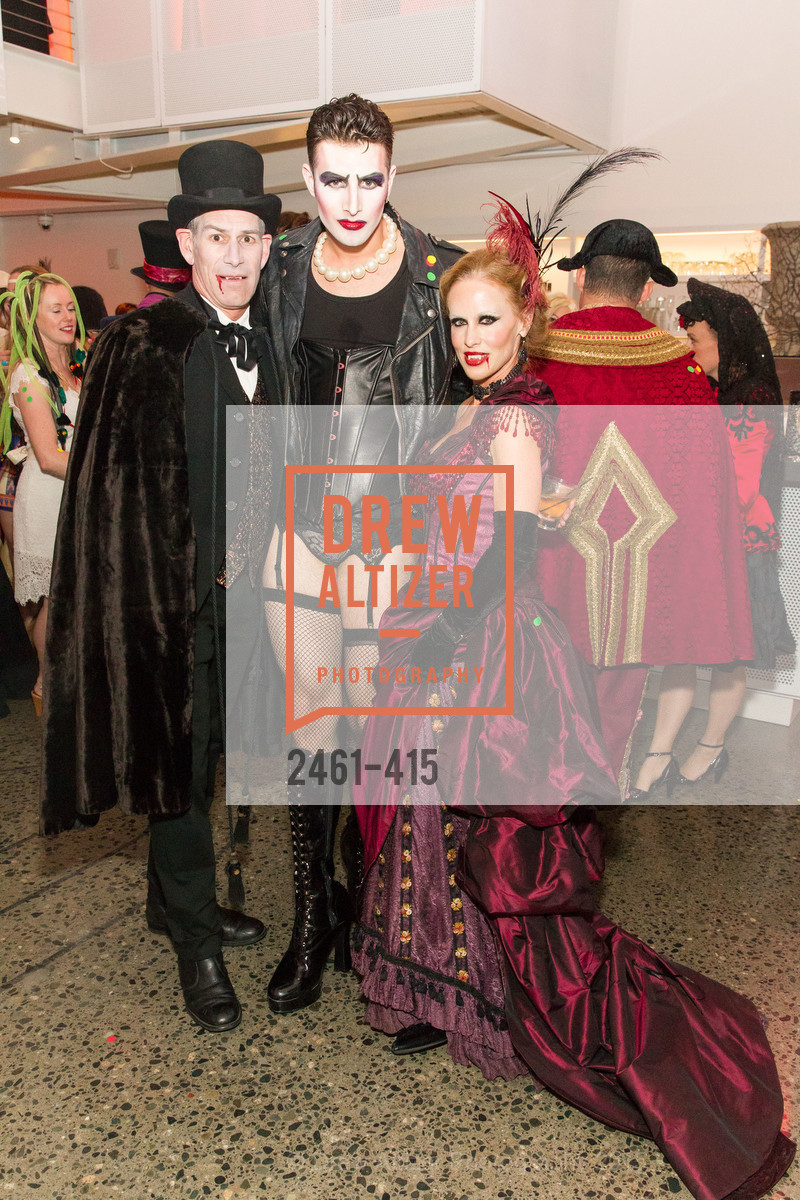 Chris Hollenbeck, Justin Genna, Holly Hollenbeck, SPOOKED AT THE STRAND Presented by the American Conservatory Theater, The Strand Theater. 1127 Market Street, October 26th, 2015,Drew Altizer, Drew Altizer Photography, full-service agency, private events, San Francisco photographer, photographer california