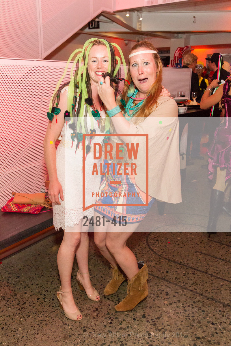 Sarah Trawl, Yvette Scholmeyer, SPOOKED AT THE STRAND Presented by the American Conservatory Theater, The Strand Theater. 1127 Market Street, October 26th, 2015,Drew Altizer, Drew Altizer Photography, full-service agency, private events, San Francisco photographer, photographer california