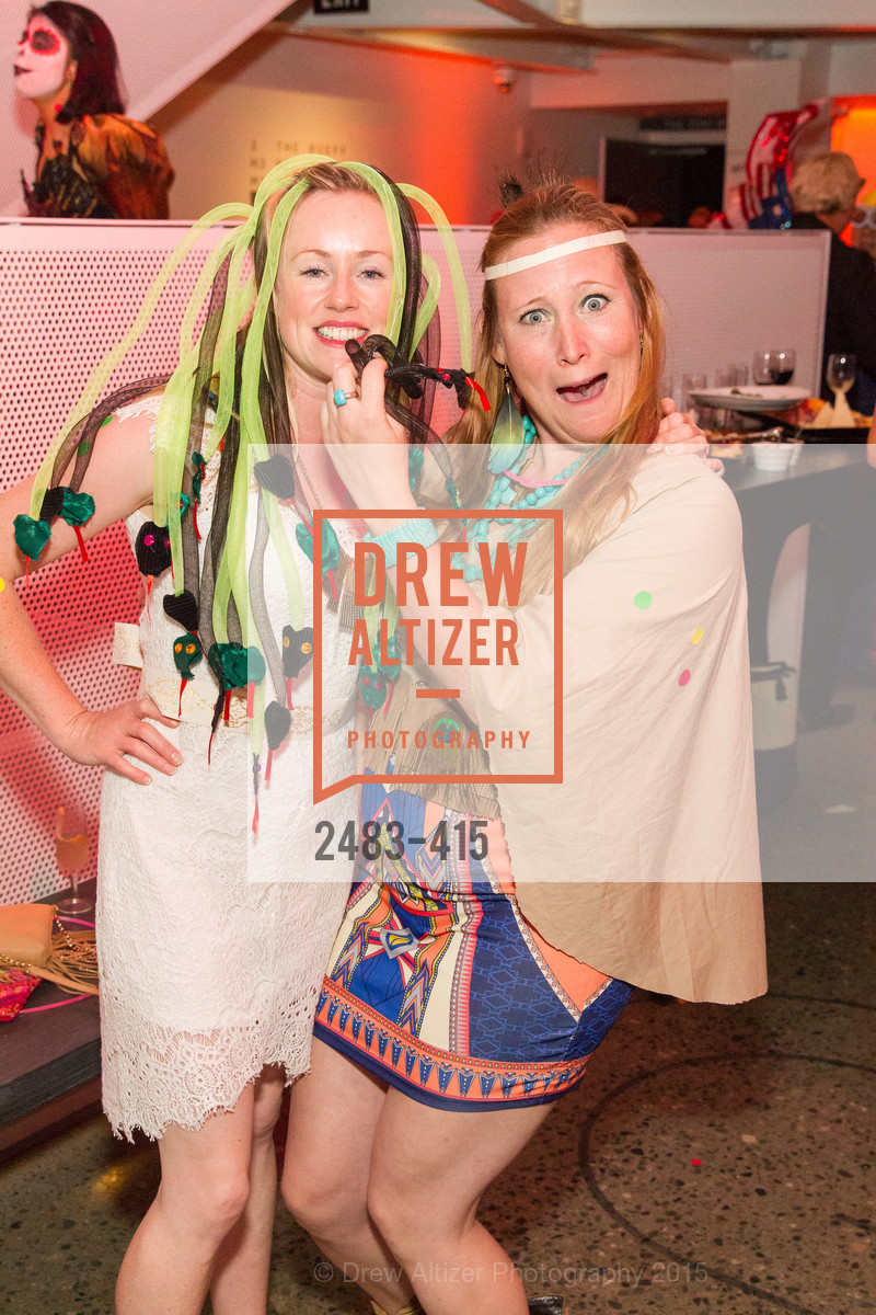 Sarah Trawl, Yvette Scholmeyer, SPOOKED AT THE STRAND Presented by the American Conservatory Theater, The Strand Theater. 1127 Market Street, October 26th, 2015,Drew Altizer, Drew Altizer Photography, full-service event agency, private events, San Francisco photographer, photographer California