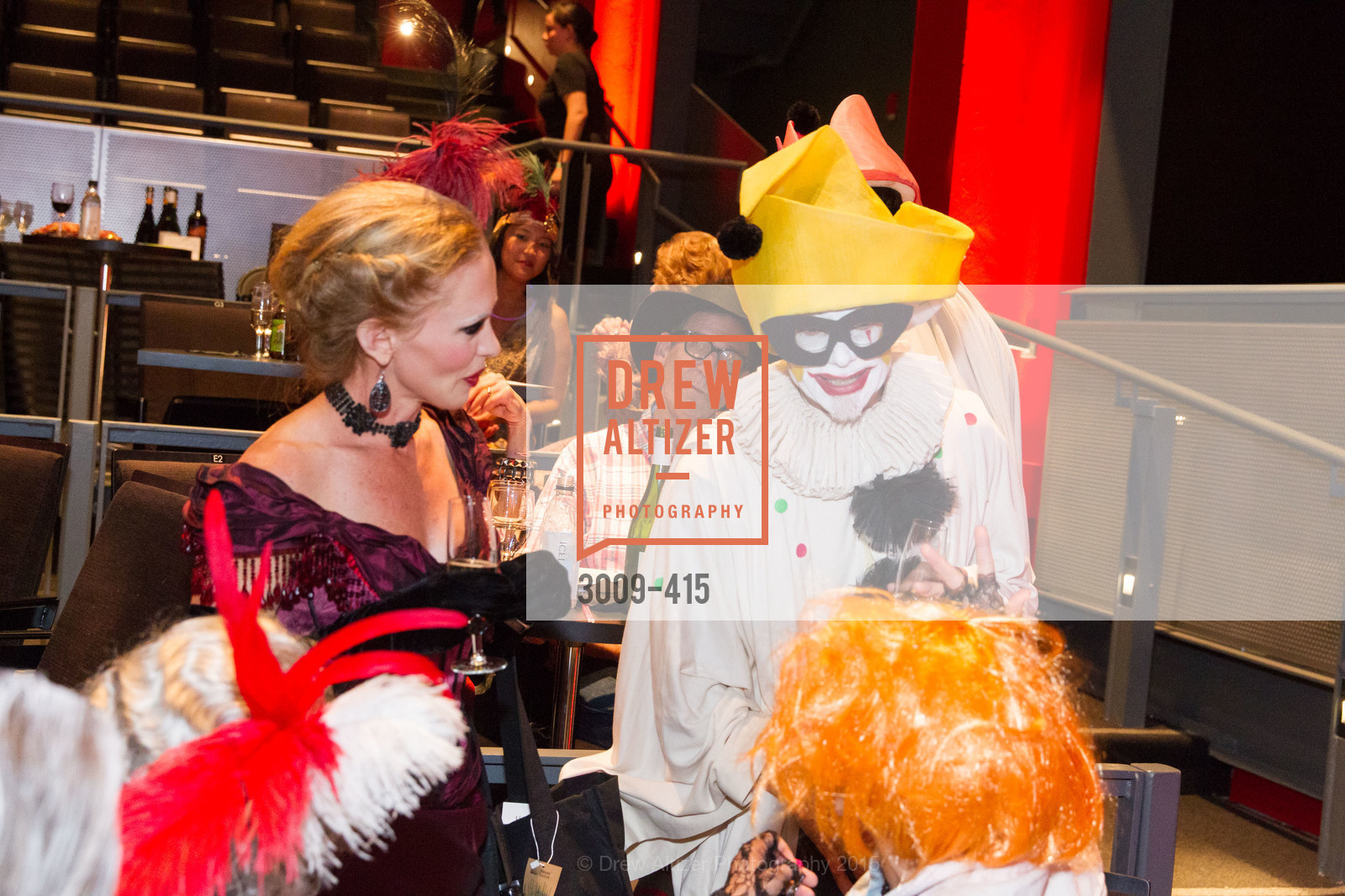 Holly Hollenbeck, Rusty Rueff, SPOOKED AT THE STRAND Presented by the American Conservatory Theater, The Strand Theater. 1127 Market Street, October 26th, 2015,Drew Altizer, Drew Altizer Photography, full-service agency, private events, San Francisco photographer, photographer california