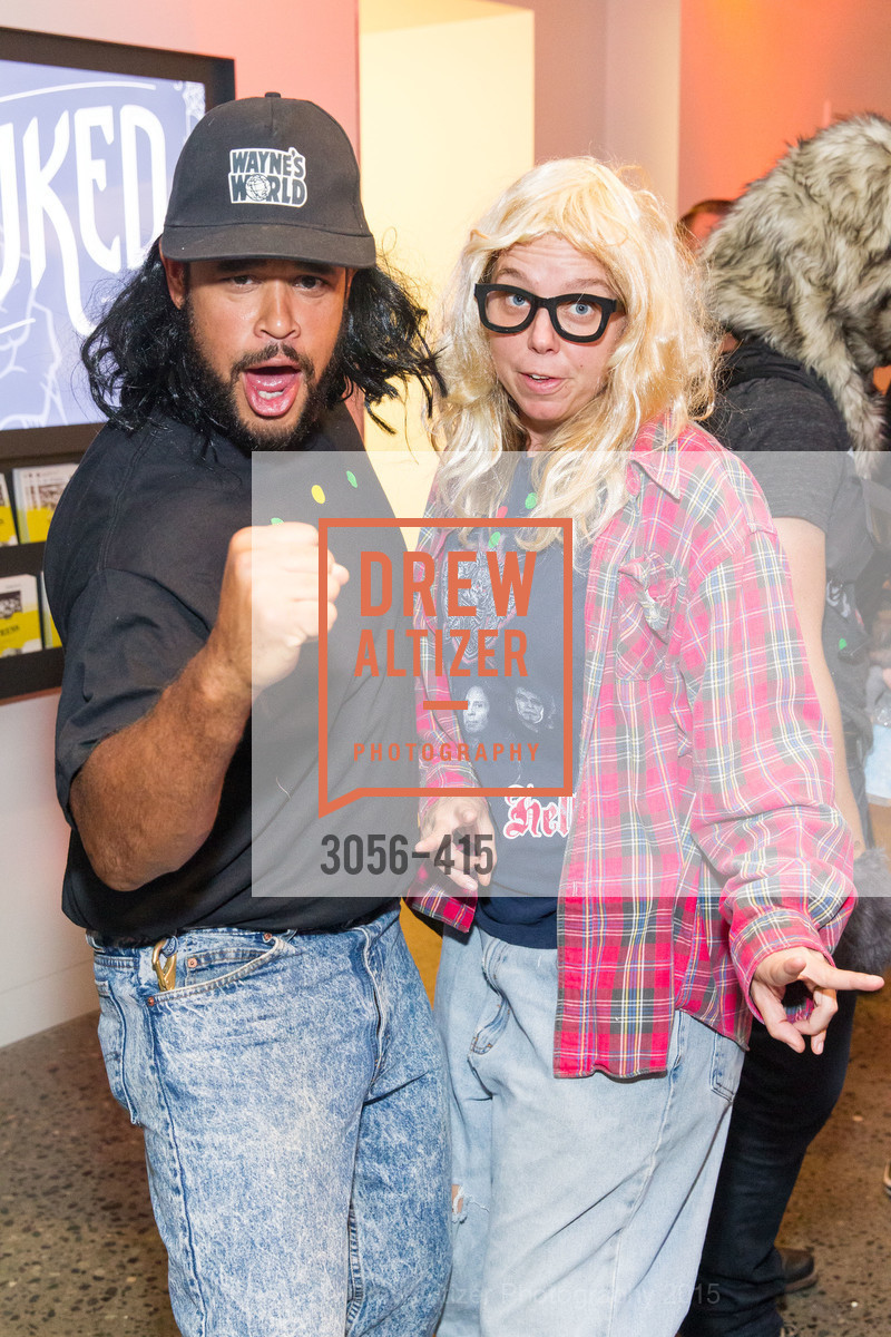 Julian McQueen, Heather Bachs, SPOOKED AT THE STRAND Presented by the American Conservatory Theater, The Strand Theater. 1127 Market Street, October 26th, 2015,Drew Altizer, Drew Altizer Photography, full-service agency, private events, San Francisco photographer, photographer california