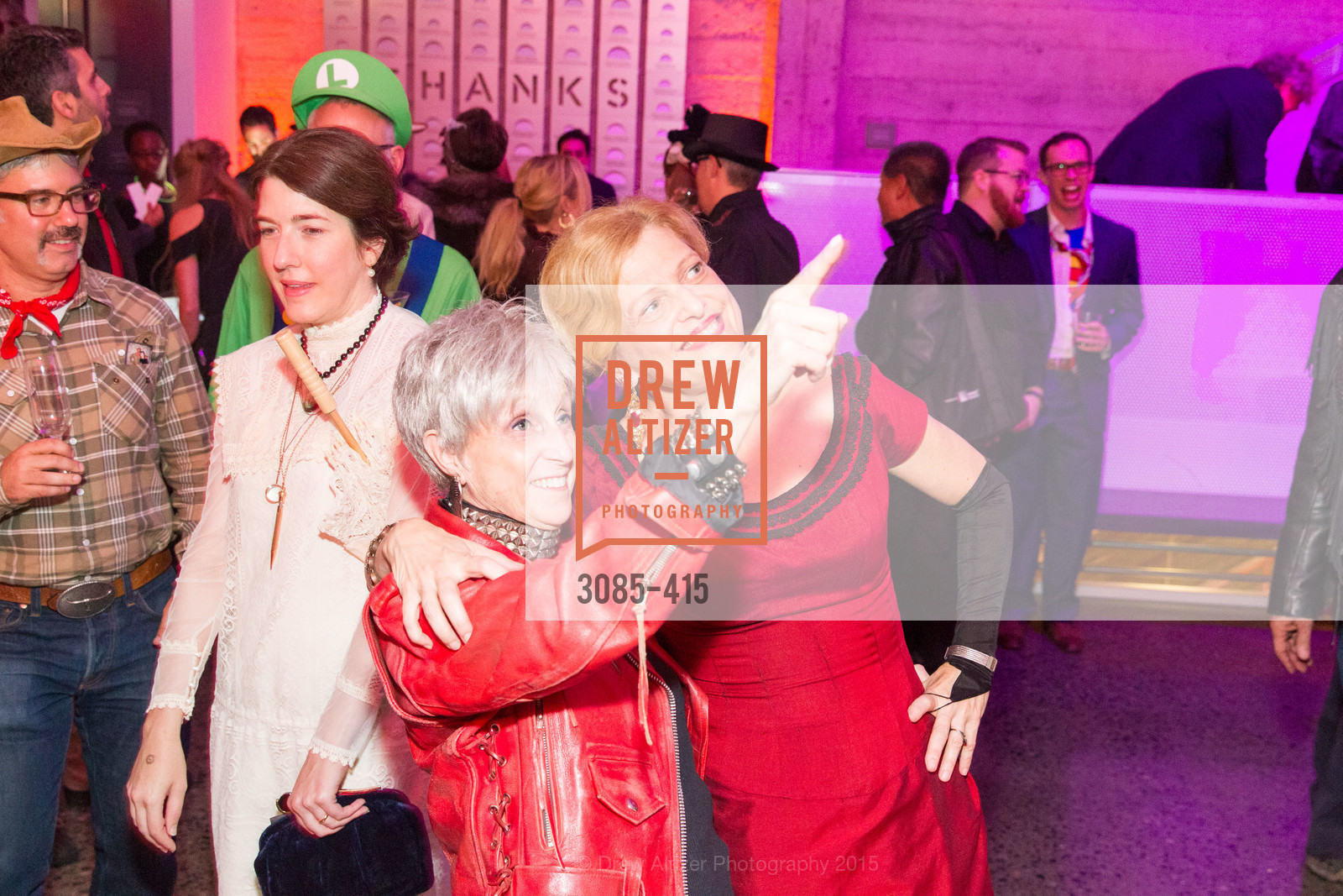 Nancy Livingston, Carey Perloff, SPOOKED AT THE STRAND Presented by the American Conservatory Theater, The Strand Theater. 1127 Market Street, October 26th, 2015,Drew Altizer, Drew Altizer Photography, full-service agency, private events, San Francisco photographer, photographer california