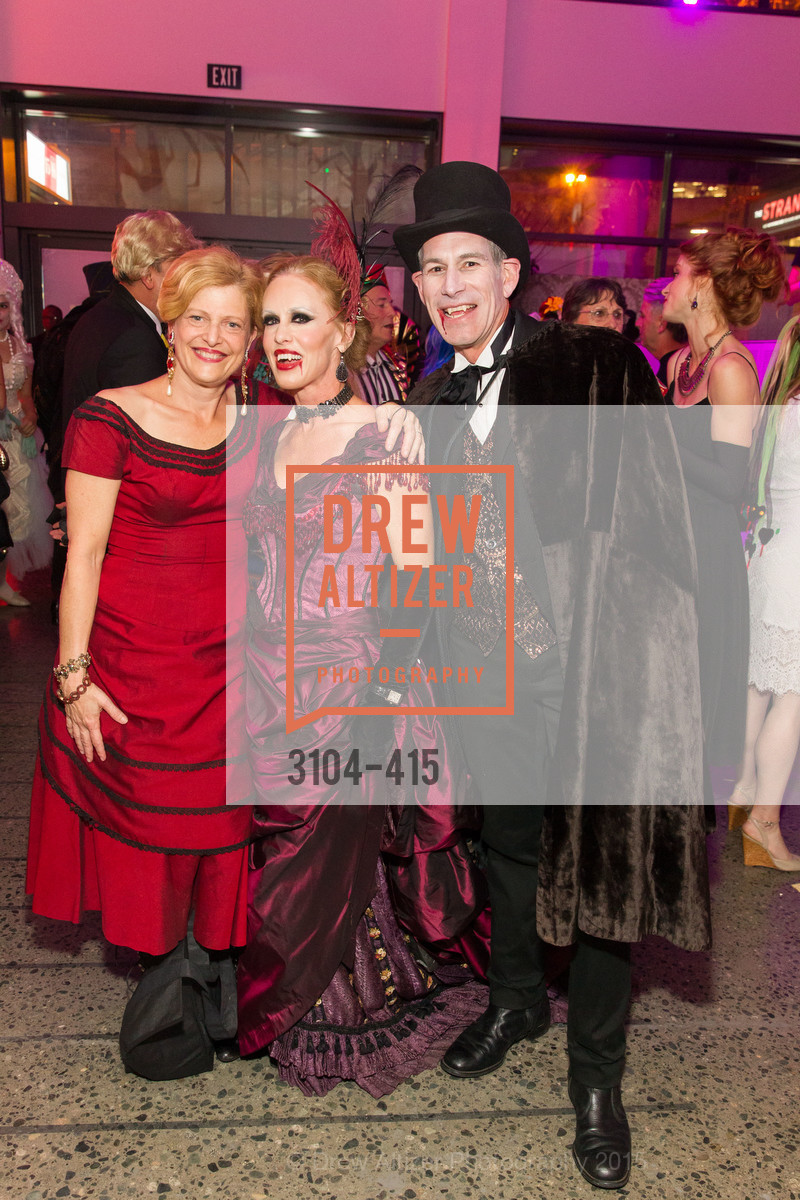 Carey Perloff, Holly Hollenbeck, Chris Hollenbeck, SPOOKED AT THE STRAND Presented by the American Conservatory Theater, The Strand Theater. 1127 Market Street, October 26th, 2015,Drew Altizer, Drew Altizer Photography, full-service agency, private events, San Francisco photographer, photographer california