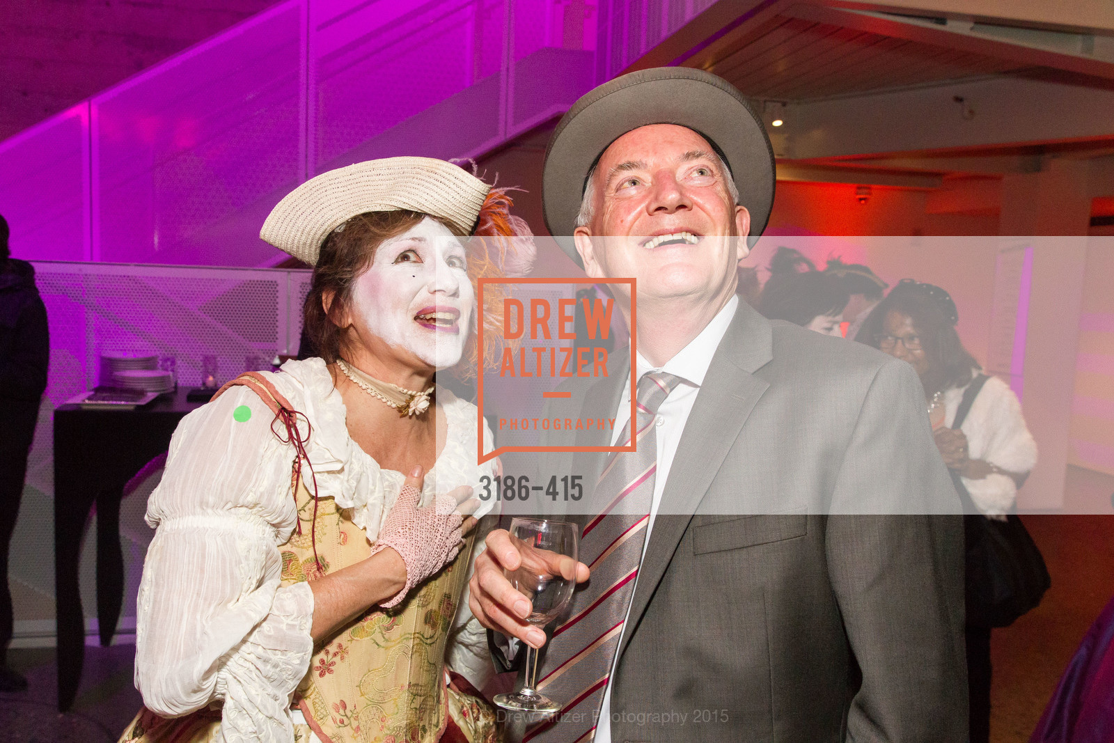 Elizabeth Brodersen, Anthony Giles, SPOOKED AT THE STRAND Presented by the American Conservatory Theater, The Strand Theater. 1127 Market Street, October 26th, 2015,Drew Altizer, Drew Altizer Photography, full-service agency, private events, San Francisco photographer, photographer california