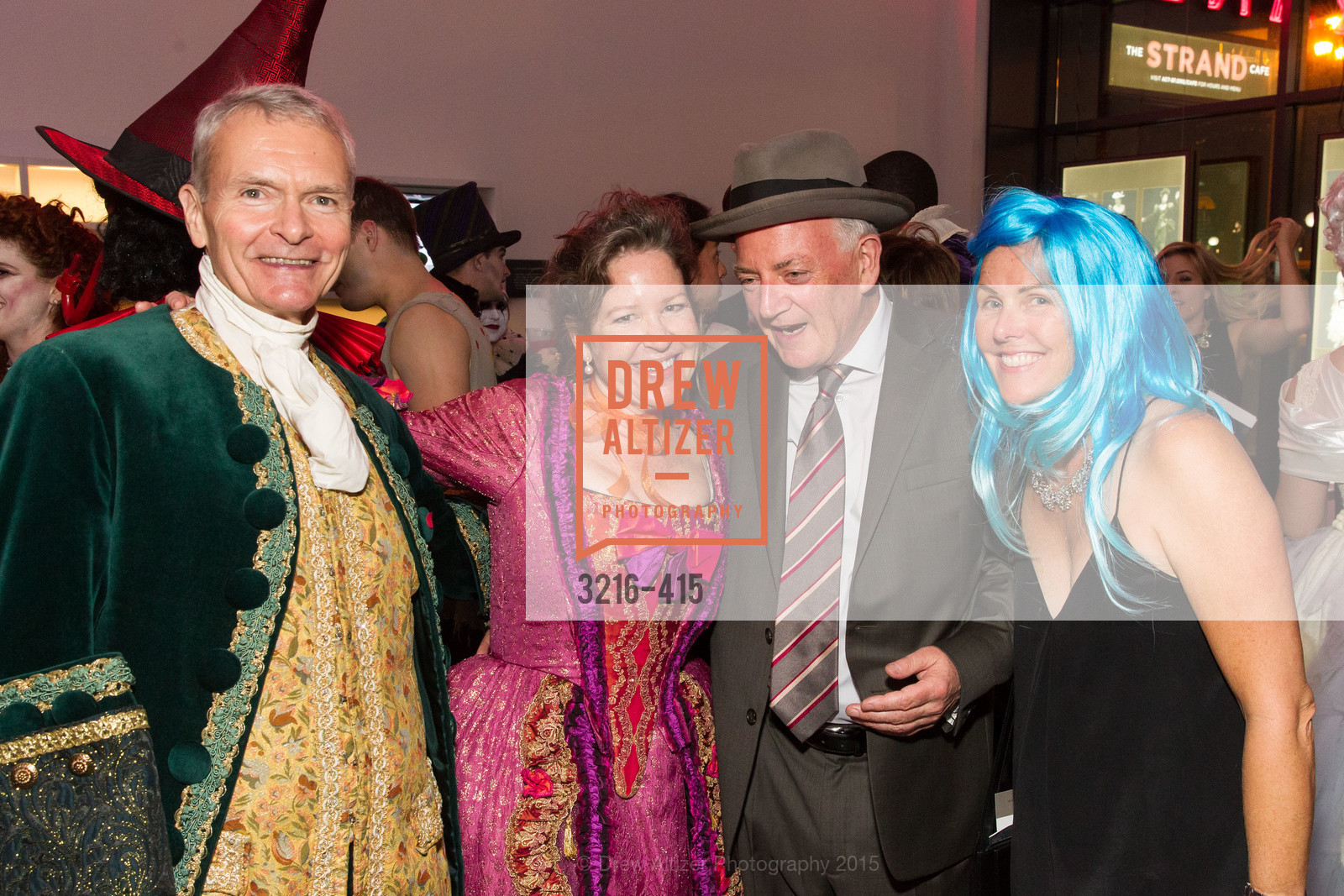 Kirke Hasson, Nancy Sawyer Hasson, Robina Ricciteillo, SPOOKED AT THE STRAND Presented by the American Conservatory Theater, The Strand Theater. 1127 Market Street, October 26th, 2015,Drew Altizer, Drew Altizer Photography, full-service agency, private events, San Francisco photographer, photographer california