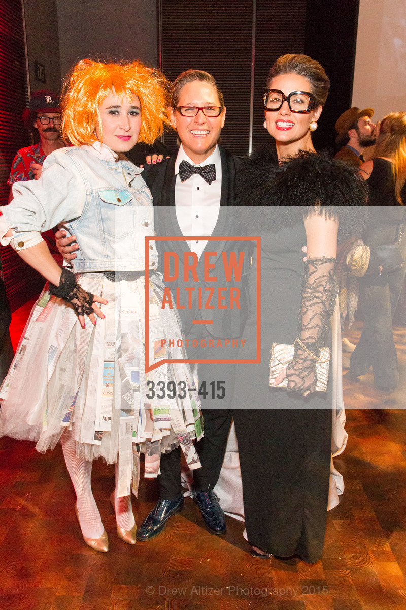Cielle Taaffe, Jodi Goodman, Michelle Goodman, SPOOKED AT THE STRAND Presented by the American Conservatory Theater, The Strand Theater. 1127 Market Street, October 26th, 2015,Drew Altizer, Drew Altizer Photography, full-service agency, private events, San Francisco photographer, photographer california