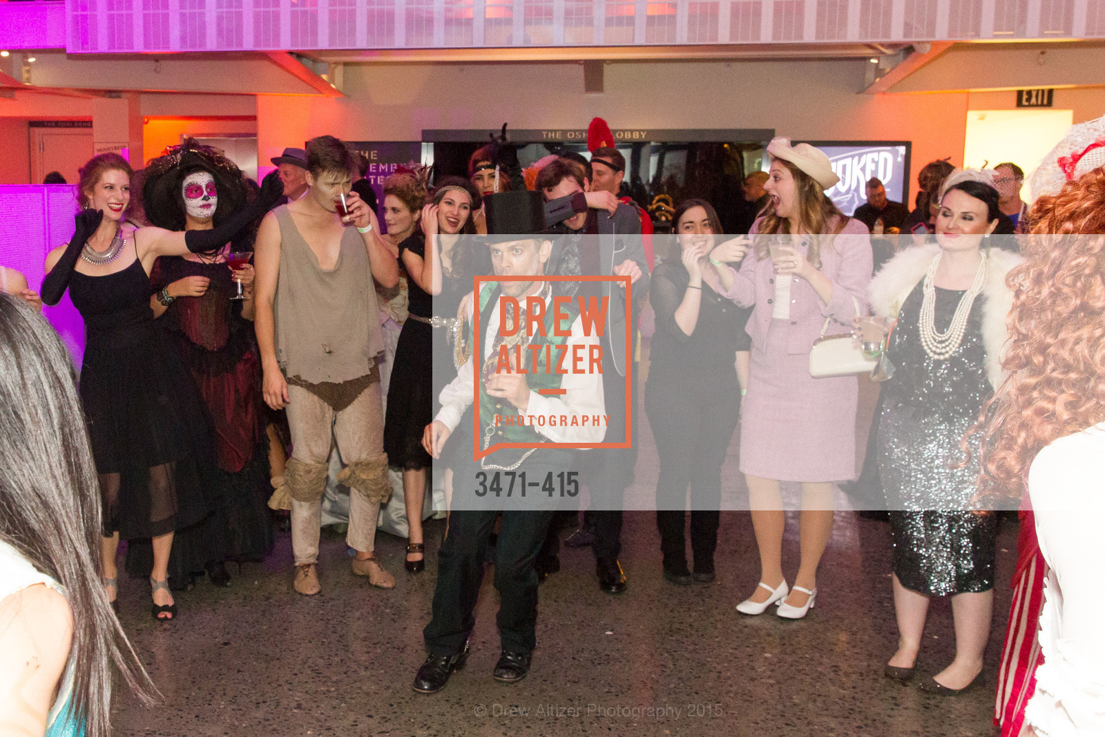 Dance Floor, SPOOKED AT THE STRAND Presented by the American Conservatory Theater, The Strand Theater. 1127 Market Street, October 26th, 2015