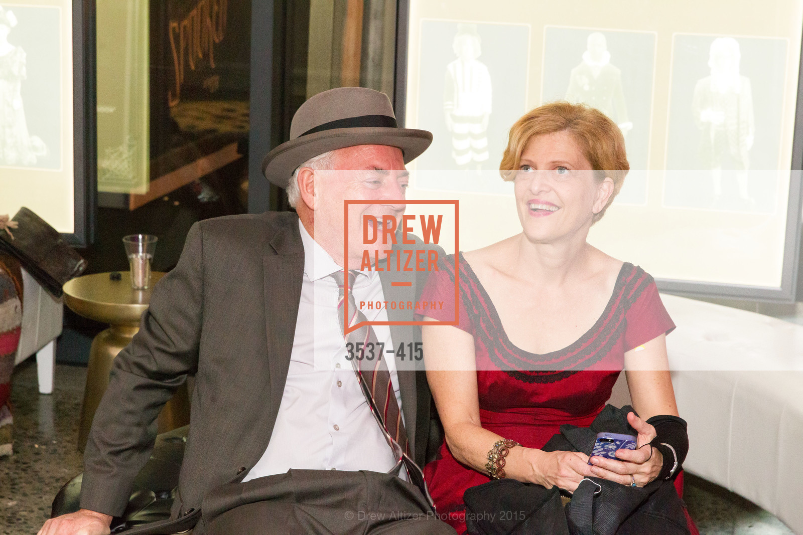Anthony Giles, Carey Perloff, SPOOKED AT THE STRAND Presented by the American Conservatory Theater, The Strand Theater. 1127 Market Street, October 26th, 2015,Drew Altizer, Drew Altizer Photography, full-service agency, private events, San Francisco photographer, photographer california