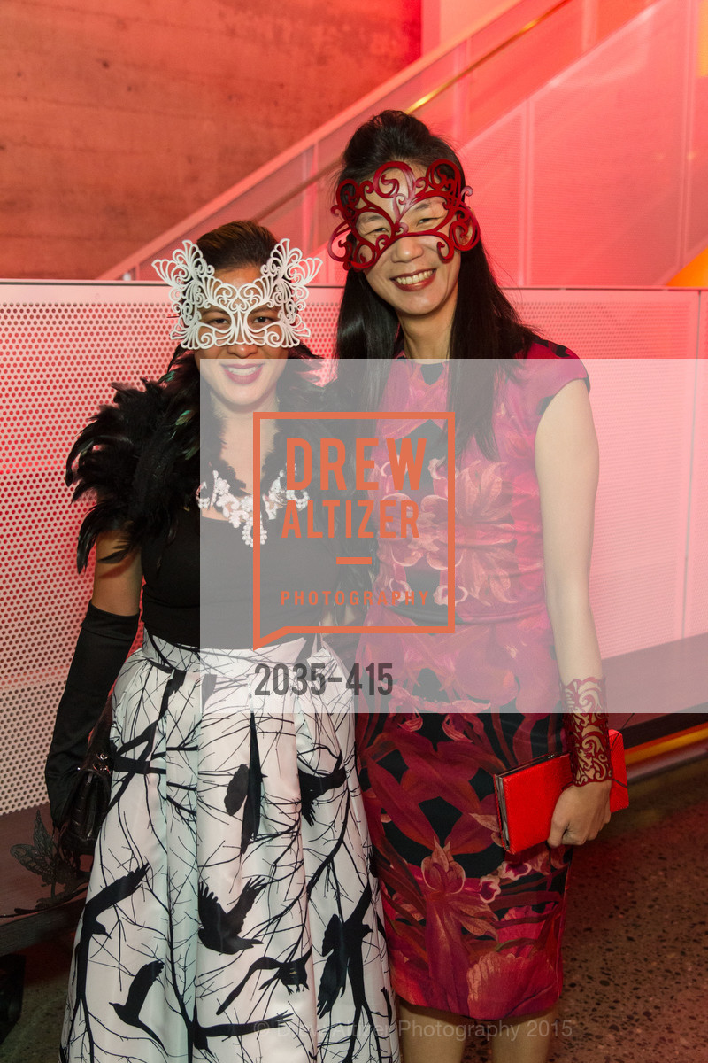 Marykay Soohoo, Jeannie Yang, SPOOKED AT THE STRAND Presented by the American Conservatory Theater, The Strand Theater. 1127 Market Street, October 26th, 2015,Drew Altizer, Drew Altizer Photography, full-service agency, private events, San Francisco photographer, photographer california