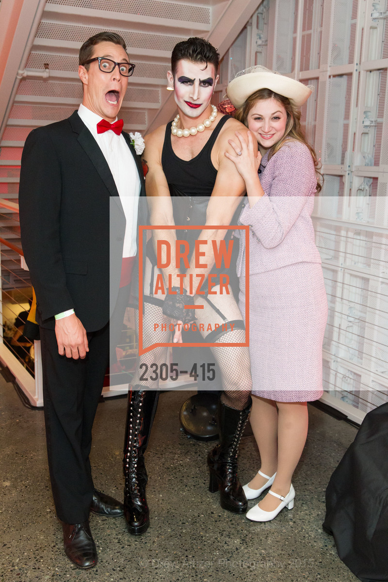 Stephen Wattrus, Justin Genna, Julia Adamo, SPOOKED AT THE STRAND Presented by the American Conservatory Theater, The Strand Theater. 1127 Market Street, October 26th, 2015,Drew Altizer, Drew Altizer Photography, full-service agency, private events, San Francisco photographer, photographer california