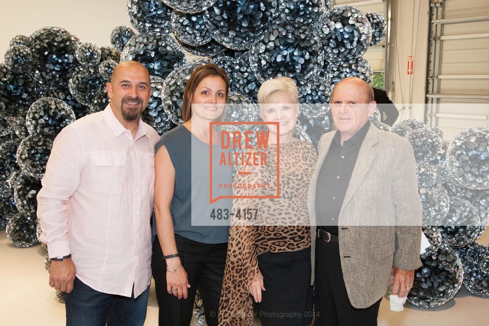 Harpik Avetian, Arsho Avetian, Connie Lurie, Bob Lurie, Photo #483-4157
