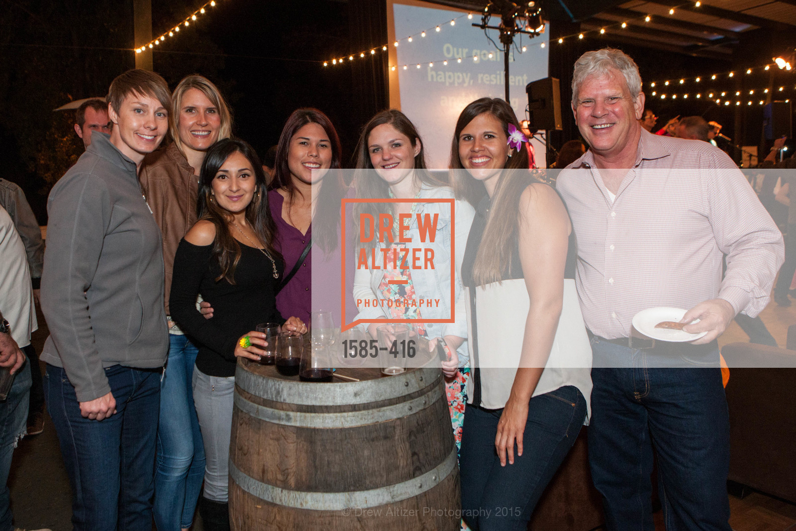 Group Photo, Children's Health Council Presents Rocktoberfest, National Center For Equine Facilitated Therapy. 880 Runnymede Rd, October 15th, 2015,Drew Altizer, Drew Altizer Photography, full-service agency, private events, San Francisco photographer, photographer california