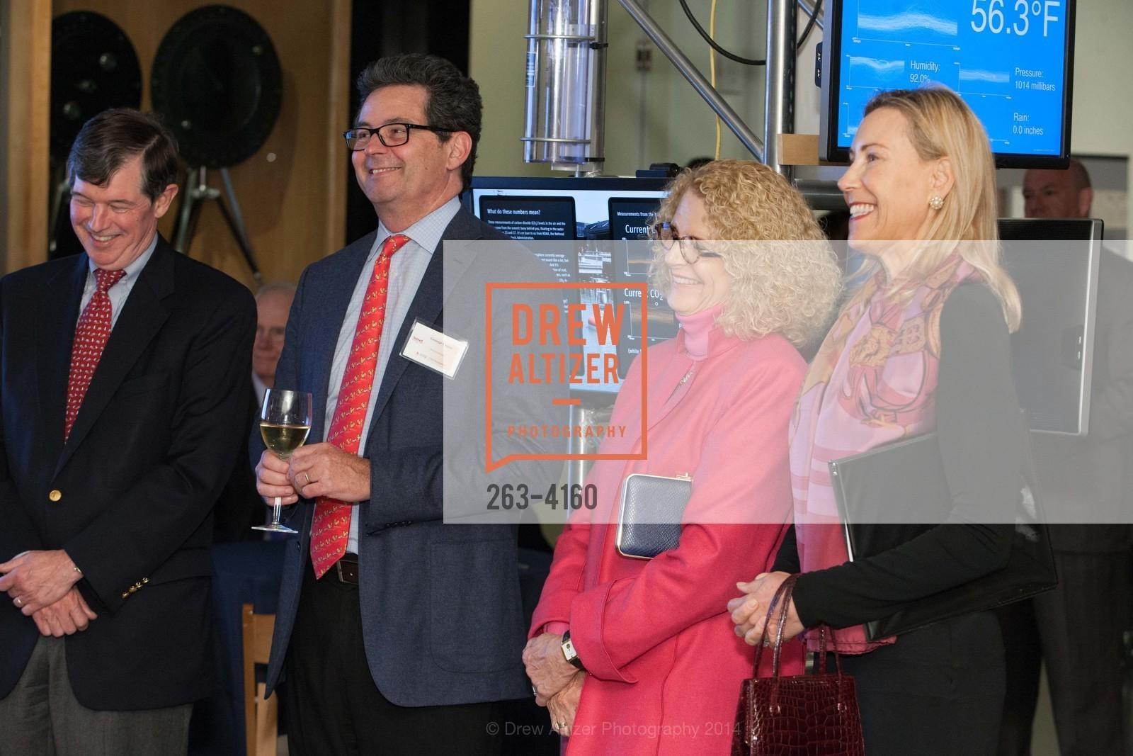 Anthony Earley, George Cogan, Sarah Earley, Carolyn Mehran, Photo #263-4160