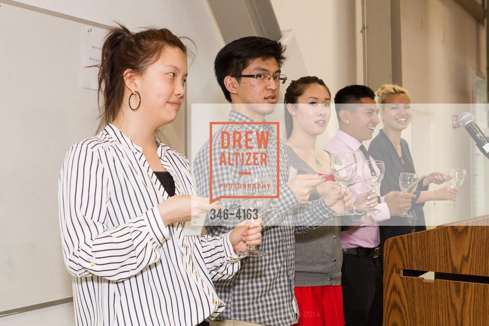 Elizabeth Hua, George Liu, Lisa Li, Eddy Poot, Nina Huynh, Photo #346-4163