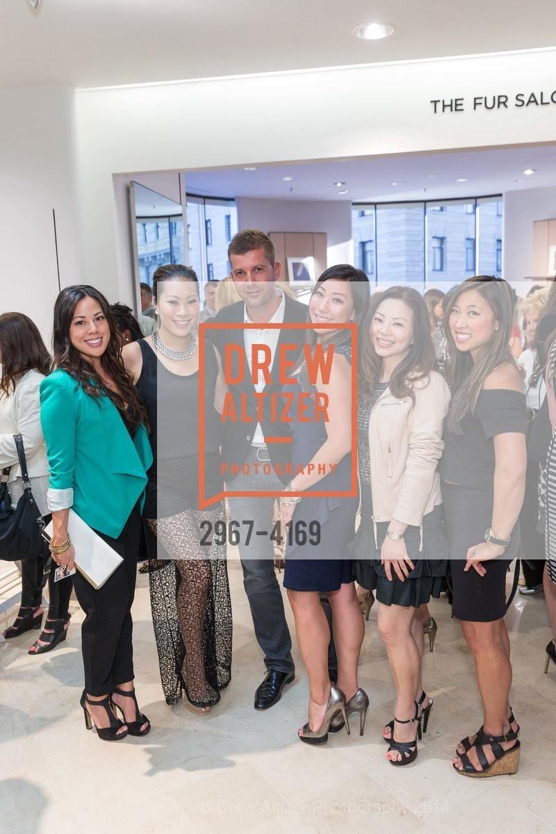 Elaine Ko, Stephanie Ng, Antoine Crumeyrolle, Angellica Yi, Coco Pai, Christine Lee, Photo #2967-4169
