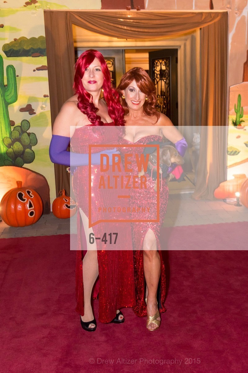 Ginny Ziegler, Toni Wolfson, Wolfson-Federighi Cartoon Costume Party, Private Residence. 737 Bay Road, October 24th, 2015,Drew Altizer, Drew Altizer Photography, full-service agency, private events, San Francisco photographer, photographer california