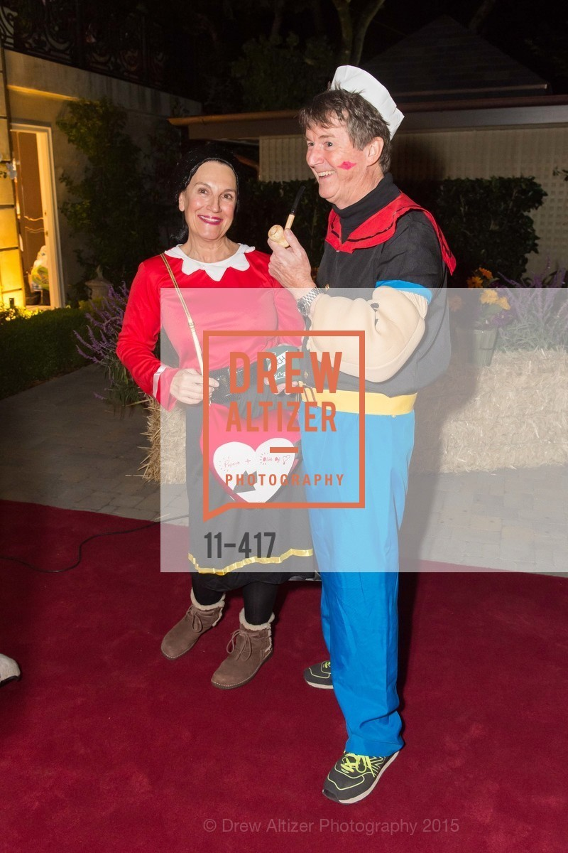 Debby Sagues, Paul Sagues, Wolfson-Federighi Cartoon Costume Party, Private Residence. 737 Bay Road, October 24th, 2015,Drew Altizer, Drew Altizer Photography, full-service agency, private events, San Francisco photographer, photographer california