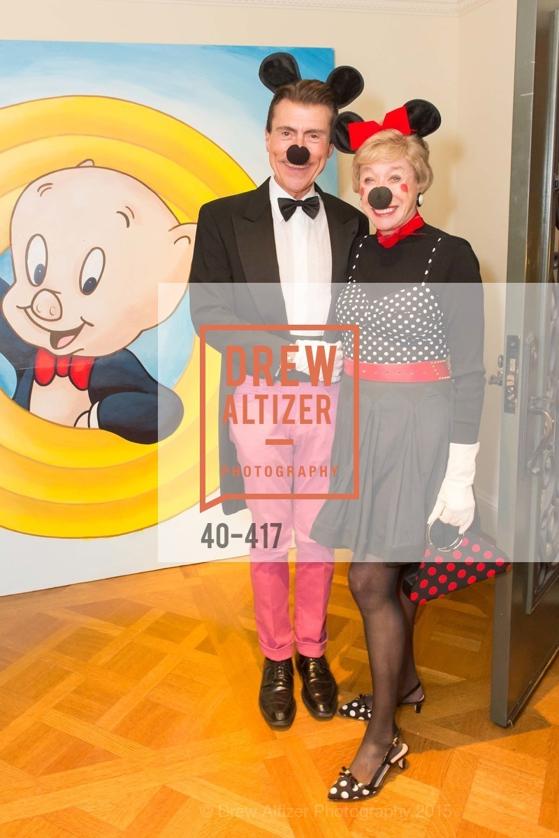 Robert Beadle, Maria Pitcairn, Wolfson-Federighi Cartoon Costume Party, Private Residence. 737 Bay Road, October 24th, 2015,Drew Altizer, Drew Altizer Photography, full-service agency, private events, San Francisco photographer, photographer california